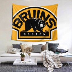 Durable NHL Boston Bruins tapestry 60*51inch #156873 For Beach Shawl, Scarf, Blanket