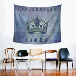 Bedroom Living Los Angeles Kings tapestry 60*51inch #152206 Room Dorm Party Decor