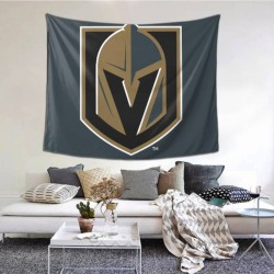 Decorative Wall Tapestry Vegas Golden Knights tapestry 60*51inch #150411 Is Soft, Durable